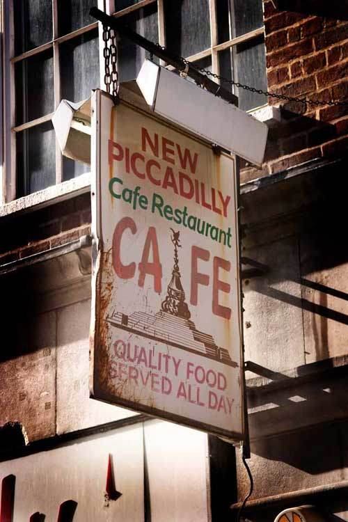 New Piccadilly Cafe
