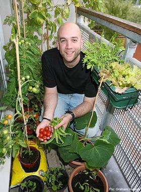Urban Gardening Interview: London Vegetable Garden