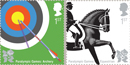 Decathlon Of Stamps Celebrates London Olympics