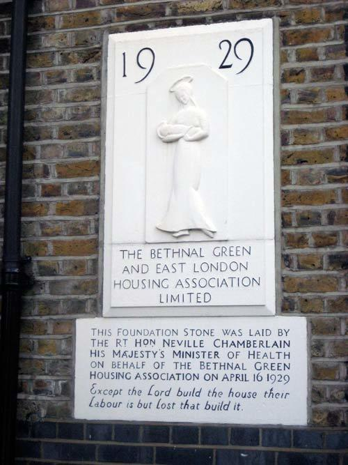 Neville Chamberlain was here