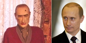 London Lookalikes: Sherlock Holmes And Vladimir Putin