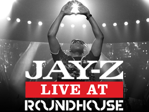 Jay Z at the Roundhouse