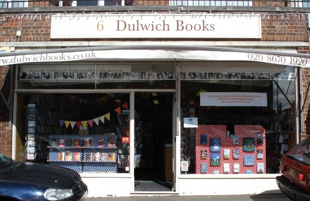 Outside Dulwich Books
