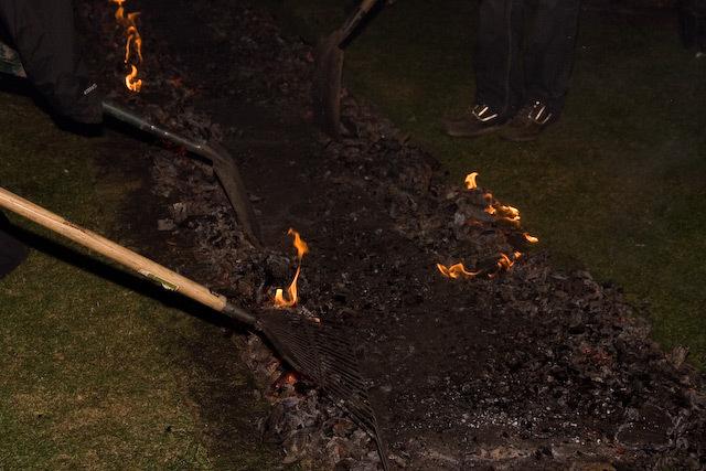 Firewalk Fundraiser: Flaming 'eck!
