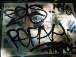 Locals Lament Loss Of Graffiti