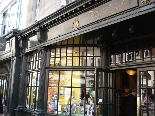The olde worlds feel of Hatchards