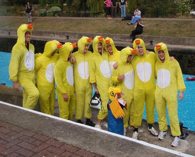 Duck men