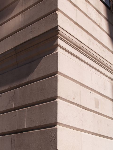 Britannic House, Finsbury Circus - The attraction of Portland Stone is all about its shadows, so we learned Jamesu
