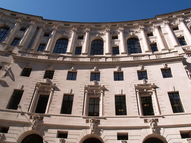 Britannic House by Sir Edwin Lutyens: former BP Headquarters and a highpoint of the Portland Stone period, now you know Jamesu