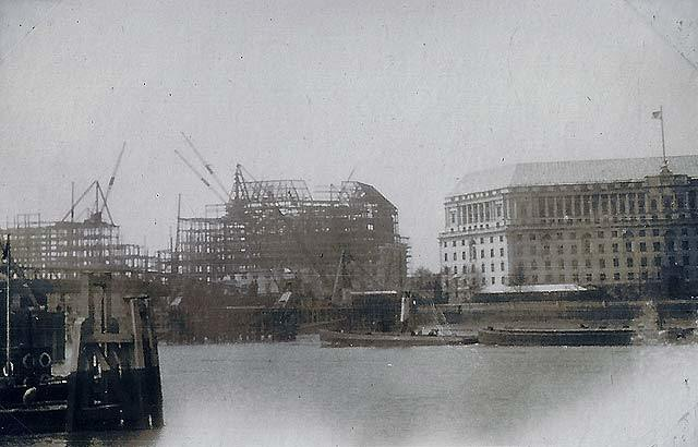 Construction of Thames House, home of MI5 - 1929/30