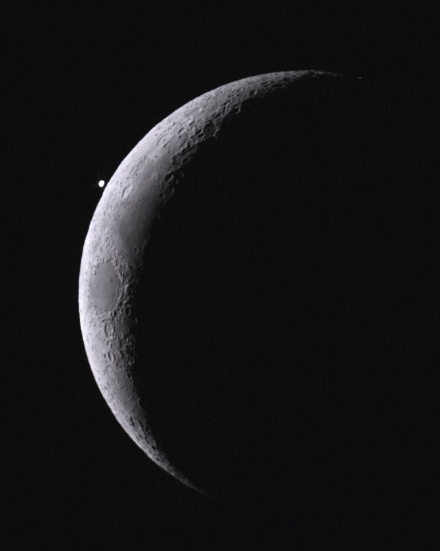 Occultation of Venus by Paul Smith Young Astronomer Photographer of the Year
