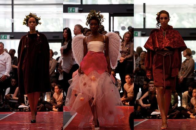 Pleasure garden inspired wear from graduate designers