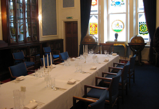 Mark Mason's dining room, St James, by M@