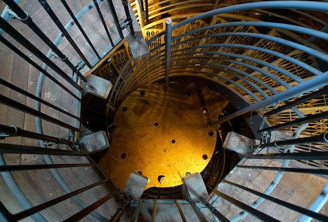 Staircase in Limehouse Accumulator Tower, by DeanN