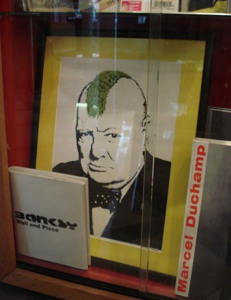 That Banksy print