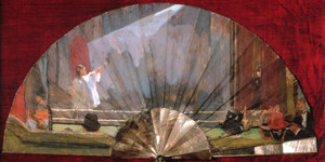 From The Fan Museum: The Sickert Fan
