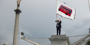 Touch Up London #95: Boris On The Plinth