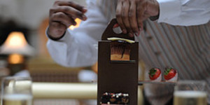 Chocolate Week Preview:  Chocolate Afternoon Tea at the Landmark London