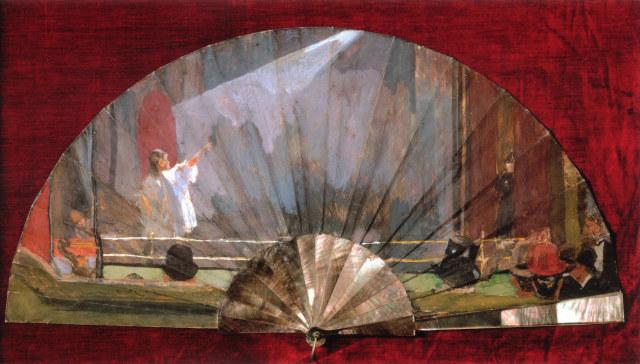 From The Fan Museum: The Sickert Fan