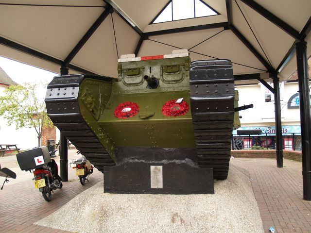 A rather excellent World War One tank