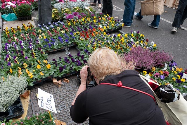 Shooting at Columbia Road Flower Market Dean Nicholas