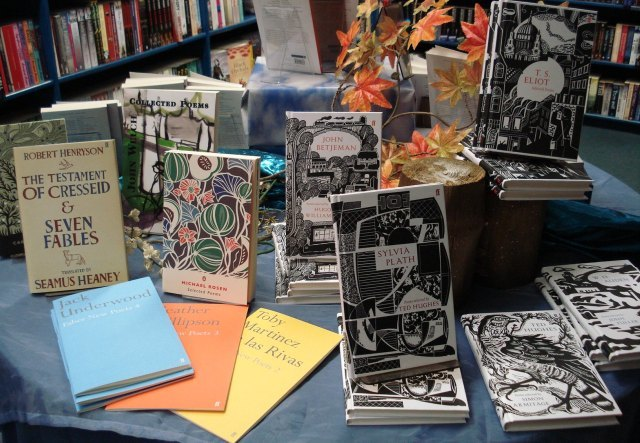 An autumnal display of poems for when the nights draw in