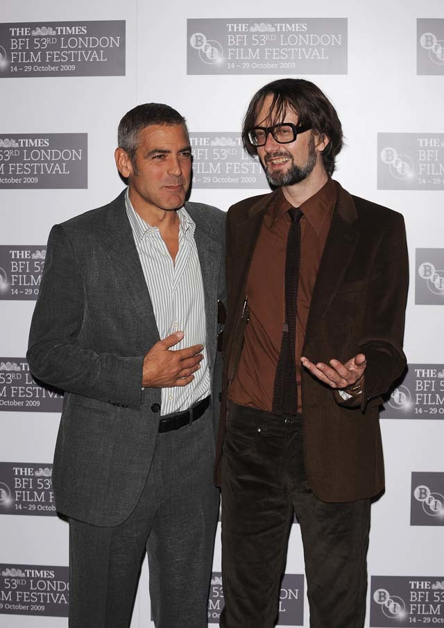 What do you mean, another picture of Clooney? Jarvis Cocker, who plays Petey in Fantastic Mr Fox, enjoys the limelight