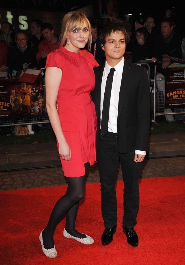 Sophie Dahl (pictured with Jamie Cullum) pays respects to her grandfather at the Fantastic Mr Fox premiere
