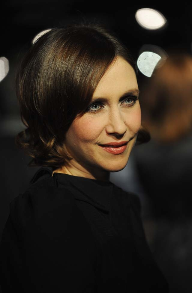 Actress Vera Farmiga, George Clooney's co-star in the brilliant Up In The Air