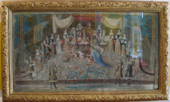 From The Fan Museum: The Birthday Of The Dauphin