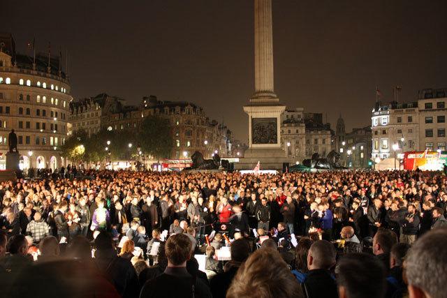 In Pictures: Vigil Against Hate Crime @ Trafalgar Square
