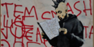 Banksy Mural Defaced As Residents Vote On Its Future