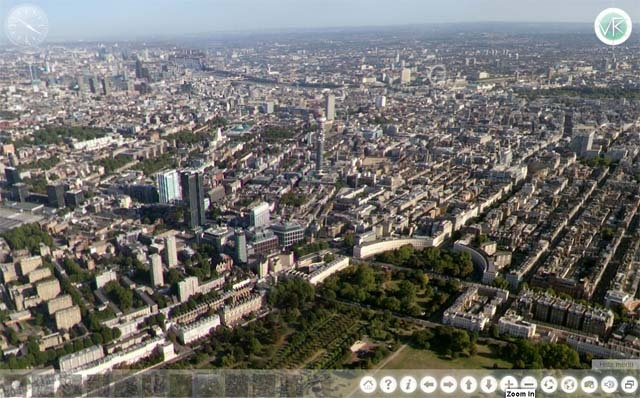 London From Above...In Panorama