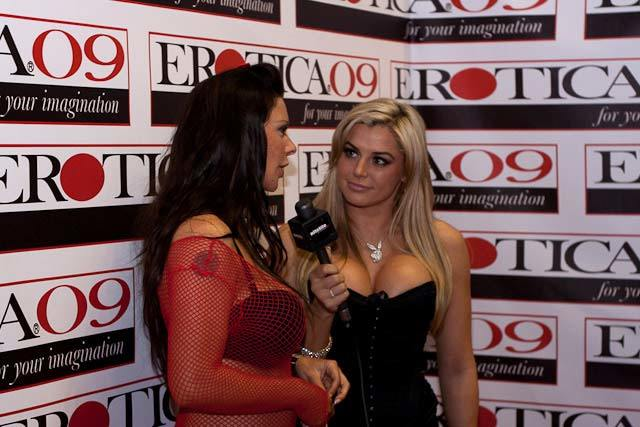 Playboy TV interviewed Linsey Dawn McKenzie