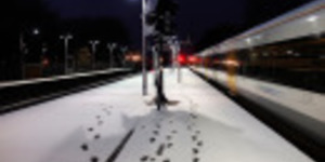 Snow Joke: Cold Weather Hits Train Services