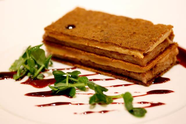 Duck and Foie Gras Sandwich