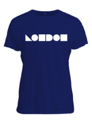 Santa's Lap: This Is Not A London Logo T-Shirt