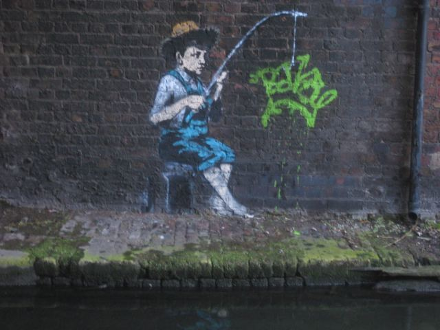 Four New Banksy Pieces Appear In Camden Town