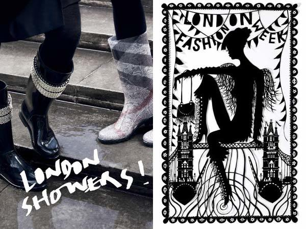 London Underground tarted itself up with this series of posters for London Fashion Week TfL