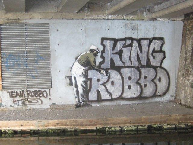 New Banksy Mural Reclaimed By Old School Graffiti Writer