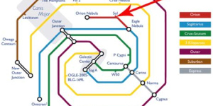A Tube Map Of The Galaxy