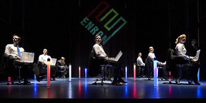 Theatre Review: Enron @ The Noel Coward Theatre