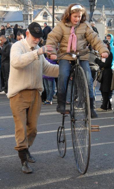 Testing out Plan B should Boris' hire bike scheme run out of cash Photo / McTumshie