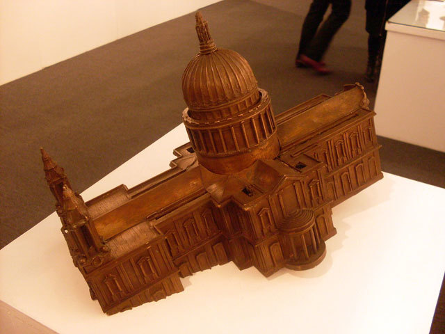 Sinking St Paul (1992) by Jason Wallis-Johnson