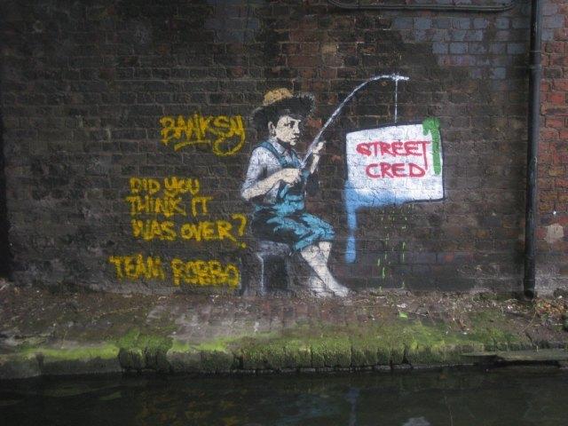 Banksy Vs Robbo: Advantage Robbo