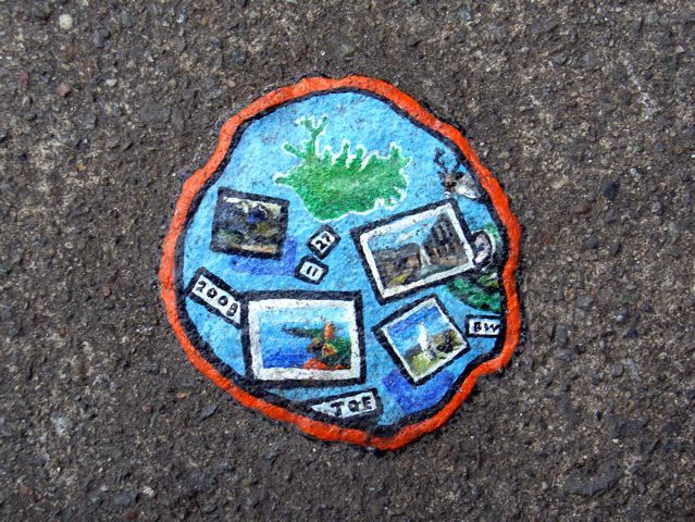 Chewing gum art has it's problems. Click the links under here for more. Crouch End, N8