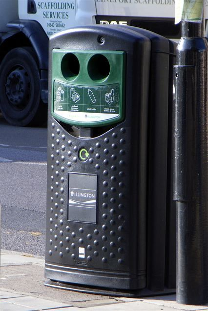 Happy bin, Islington