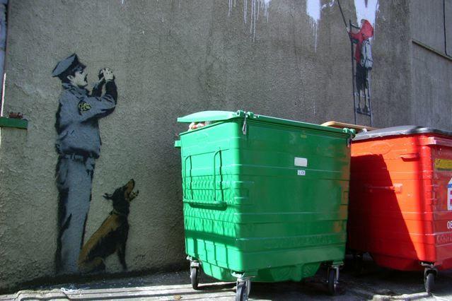 Banksy, Newman Street, W1
