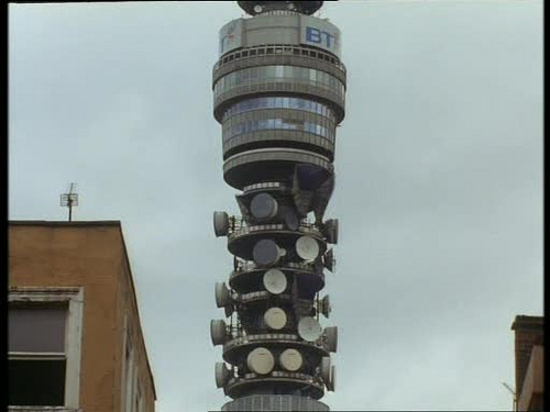 The BT Tower, obviously. But viewed from which street?