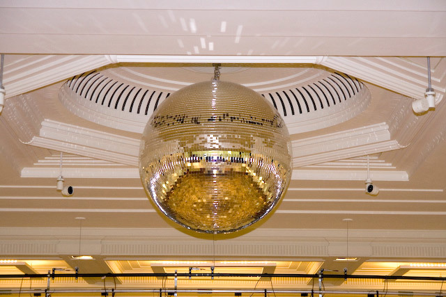 Mirrorball in the Assembly Hall